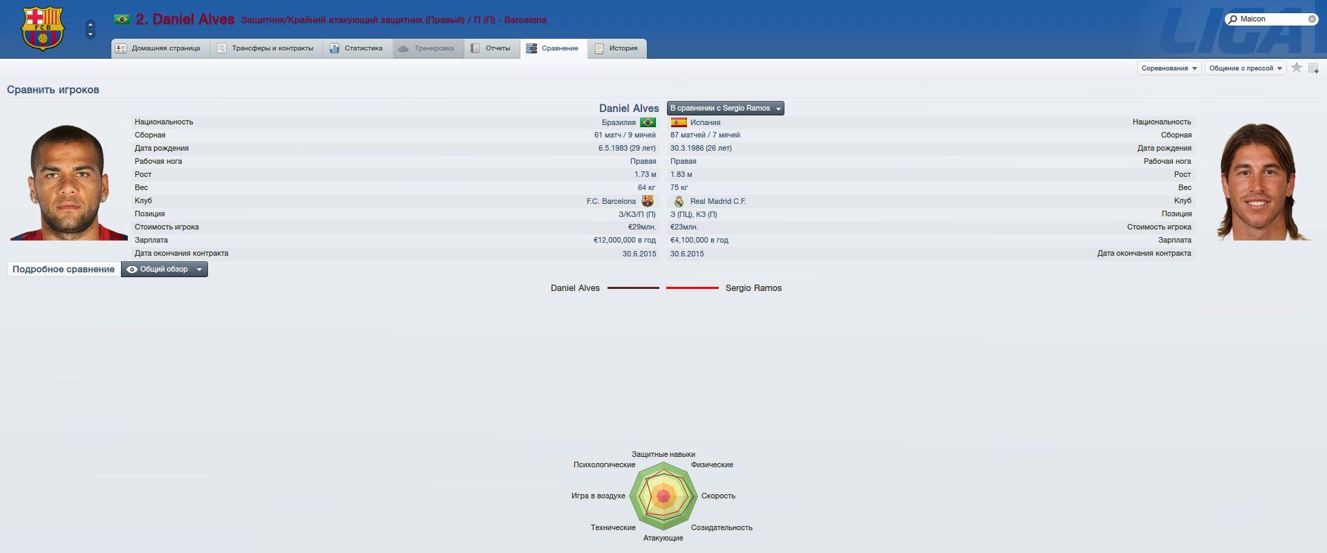 Нажмите на изображение для увеличения Название: Alves vs Ramos.jpg Просмотров: 78 Размер:98.4 Кб ID:105036